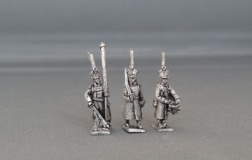 Russian Infantry command in Great coat's marching BHRICGM01