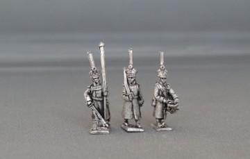 Russian iInfantry regiment in Great Coat's advancing BHRIRGA01