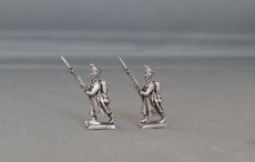 Russian Musketeers/Jaegers in Great Coat's Advancing BHRIGCA01