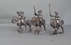 Cuirassier Regiment in floppy hats charging GNWCR01
