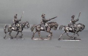 Cuirassiers in floppy hats charging GNWCC02