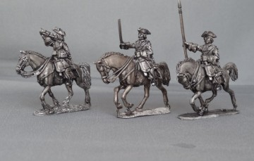 Regiment of WSS Cuirassiers in Tricorns charging WSSRCC01