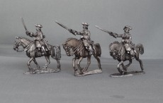 WSS Cuirassier troopers in Tricorns charging WSSCTC02