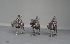 Russian Dragoon regiment on standing Horses in Karpus GNWRDR05