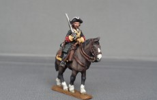 Russian Dragoon regiment on trotting horses in Tricorn GNWRDR02
