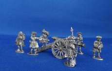 WSS British Field Gun and crew WSSBFGAC01