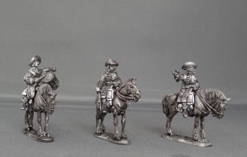 Dragoon Command in Floppy hats stood WOTLOADC01