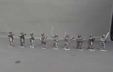 Dismounted French Dragoons in furcaps WSSDFDFC01